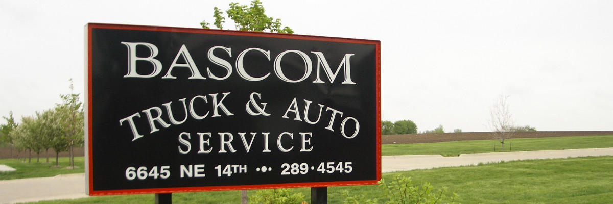Bascom Truck and Auto Sign